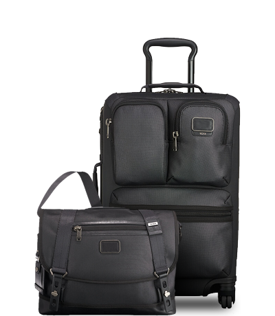 Tumi: Alpha Bravo Reflective messenger bag